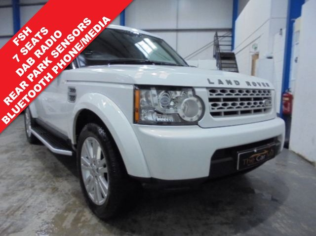 2013 62 LAND ROVER DISCOVERY 3.0 4 SDV6 GS 5d AUTO 255 BHP