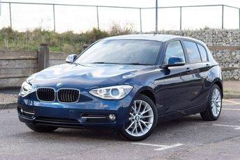 2014 BMW 1 SERIES 2.0 118D SPORT 5d 141 BHP £11999.00