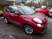 USED 2014 64 FIAT 500L 1.4 LOUNGE 5d 95 BHP Low Mileage, Comprehensive Service History (Fiat + ourselves), One Previous Owner, Minimum 6 months MOT, 6 Speed Gearbox