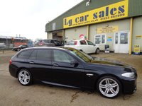 USED 2011 K BMW 5 SERIES 3.0 530D M SPORT TOURING 5d AUTO 242 BHP