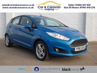 USED 2013 63 FORD FIESTA 1.0 ZETEC 5d 99 BHP Service History A/C Bluetooth Buy Now, Pay Later Finance!