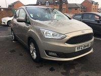 USED 2015 FORD C-MAX 1.6 ZETEC 5d 124 BHP CHEAP TO RUN, LOW CO2 EMISSIONS, AND EXCELLENT FUEL ECONOMY! EXCELLENT SPECIFICATION WITH ALLOY WHEELS, RADIO/CD,SAT NAV, HEATED WINDSCREEN AND AIR CONDITIONING! ONLY 7503 MILES AND FULL HISTORY!
