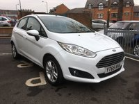 USED 2015 65 FORD FIESTA 1.0 ZETEC 5d 99 BHP LOW MILEAGE ECOBOOST MODEL WITH TINTED WINDOWS, PARKINGS SENSORS, HEATED FRONT SCREEN AND AUX/USB INPUT!