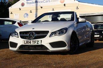2014 MERCEDES-BENZ E CLASS 3.0 E350 BLUETEC AMG SPORT 2d AUTO 252 BHP £16950.00