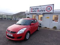 2011 SUZUKI SWIFT 1.2 SZ2 5 DOOR 94 BHP £3495.00