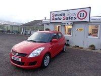 USED 2011 11 SUZUKI SWIFT 1.2 SZ2 5 DOOR 94 BHP £17 PER WEEK, NO DEPOSIT - SEE FINANCE LINK