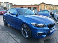 2014 BMW 2 SERIES 2.0 218D M SPORT 2d 141 BHP £13995.00