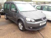 USED 2011 11 VOLKSWAGEN CADDY MAXI  life 2.0tdi 140 bhp 2011. unfinished No Vat spares repair