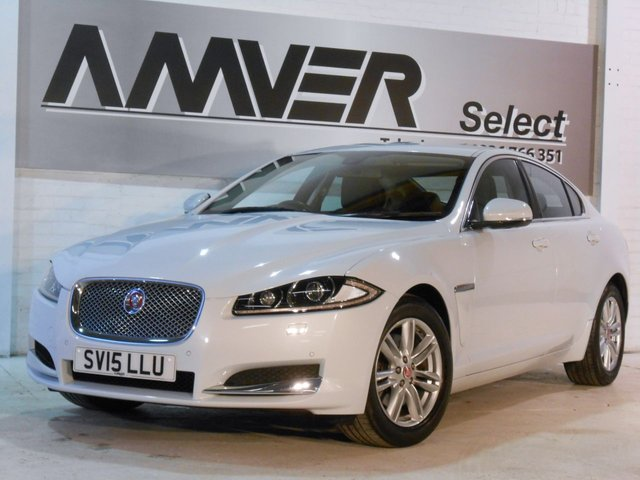2015 15 JAGUAR XF 2.2 D LUXURY 4d AUTO 163 BHP