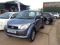 USED 2007 56 DAIHATSU TERIOS S 1.5 PETROL 4X4 MANUAL GREY LOW MILES 78825 MILES