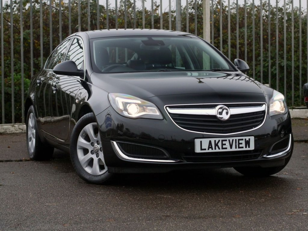 USED 2016 66 VAUXHALL INSIGNIA 1.4 TECH LINE S/S 5d 138 BHP