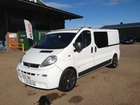 USED 2002 52 VAUXHALL VIVARO 2900 1.9 DTI  6 speed LWB CAMPER MOTOR HOME DAY VAN