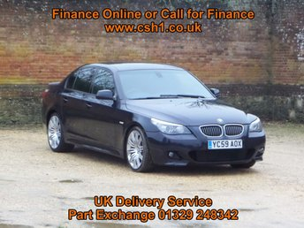 2009 BMW 5 SERIES 3.0 530D M SPORT BUSINESS EDITION 4d AUTO 232 BHP £10885.00