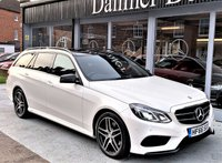 2016 MERCEDES-BENZ E CLASS 2.1 E220 BLUETEC AMG NIGHT EDITION PREMIUM 4d AUTO 174 BHP £23995.00