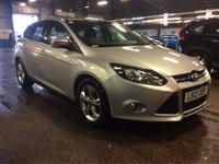 2012 FORD FOCUS 1.6 ZETEC 5d AUTO 124 BHP £6485.00