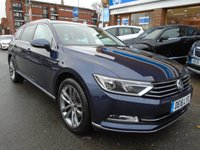 USED 2016 16 VOLKSWAGEN PASSAT 2.0 GT TDI BLUEMOTION TECHNOLOGY DSG 5d AUTO 148 BHP SWIVELING TOWBAR, SAT NAV, HEATED FRONT AND REAR SEATS