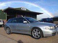 USED 1999 AUDI S4 2.7 Bi-turbo Quattro 1999. avant estate silver MANUAL 6 SPEED V6