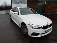 2017 BMW 5 SERIES 2.0 520D M SPORT 4d AUTO 188 BHP £24995.00