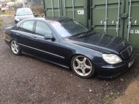 USED 2018 MERCEDES-BENZ AMG S55 AMG V8 spares or repair non runner project