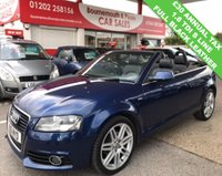 USED 2011 61 AUDI A3 1.6 TDI S LINE 2d 103 BHP CABRIOLET