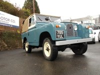 USED 1963 LAND ROVER 88 2.25 4 CYL 1d 74 BHP LOTS OF INVOICES