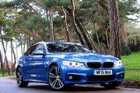 2015 BMW 4 SERIES 2.0 420D XDRIVE M SPORT GRAN COUPE 4d AUTO  £21950.00