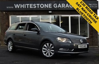 2013 VOLKSWAGEN PASSAT 2.0 HIGHLINE TDI BLUEMOTION TECHNOLOGY 5d 139 BHP £7995.00