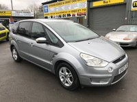 USED 2007 57 FORD S-MAX 2.0 ZETEC TDCI 5 DOOR 143 BHP IN METALLIC SILVER WITH 7 SEATS AND 126000 MILES. APPROVED CARS ARE PLEASED TO OFFER THIS FORD S-MAX 2.0 ZETEC TDCI 5 DOOR 143 BHP IN METALLIC SILVER WITH 7 SEATS IN GOOD CONDITION WITH 126000 MILES AND A FULL SERVICE HISTORY SERVICED AT 9K,15K,30K,47K,58K,69K,81K,110K AND 123K A GOOD 7 SEATER FAMILY CAR WITH SOME BODYWORK SCRATCHES AND DENTS BUT DUE TO ITS AGE AND MILEAGE IS BEING OFFERED AS A TRADE CLEARANCE CAR WITHOUT WARRANTY.WITH AN MOT UNTIL 09/08/19.