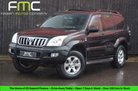 USED 2003 53 TOYOTA LAND CRUISER 3.0 LC5 8-SEATS D-4D 5d AUTO 161 BHP Full Service History