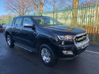 USED 2017 67 FORD RANGER 3.2 LIMITED 4X4 DCB TDCI 4d 197 BHP All Vehicles with minimum 6 months Warranty, Van Ninja Health Check and cannot be beaten on price!