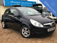 USED 2008 58 VAUXHALL CORSA 1.3 ACTIVE CDTI 3d 73 BHP Low Mileage economical Diesel Corsa £30 Road Tax