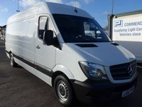 USED 2017 67 MERCEDES-BENZ SPRINTER 314CDI LWB, 140 BHP [EURO 6], LOW MILES, 1 COMPANY OWNER