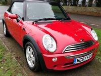 2007 MINI CONVERTIBLE 1.6 COOPER 2d 114 BHP £3650.00