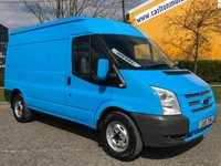 USED 2013 13 FORD TRANSIT 2.2 T330 Mwb Med Roof [ Mobile Workshop ] Van Fwd TDCi 125 A/Con