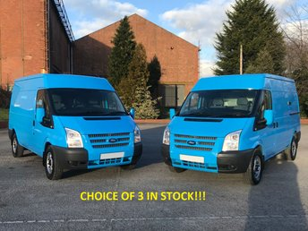 2013 FORD TRANSIT 2.2 T330 Mwb Med Roof [ Mobile Workshop ] Van Fwd TDCi 125 A/Con £8950.00