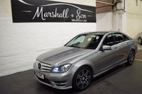 2013 MERCEDES-BENZ C CLASS 2.1 C220 CDI BLUEEFFICIENCY AMG SPORT PLUS 4d AUTO 168 BHP £13299.00