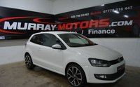2011 VOLKSWAGEN POLO 1.2 MATCH TDI 3DOOR 74 BHP *CANDY WHITE* £5750.00