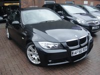 USED 2006 56 BMW 3 SERIES 2.0 320D M SPORT 4d 161 BHP ANY PART EXCHANGE WELCOME, COUNTRY WIDE DELIVERY ARRANGED, HUGE SPEC