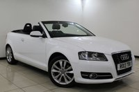 USED 2013 13 AUDI A3 1.2 TFSI SPORT FINAL EDITION 2DR 105 BHP HEATED LEATHER SEATS + PARKING SENSOR + CRUISE CONTROL + CLIMATE CONTROL + MULTI FUNCTION WHEEL + RADIO/CD/AUX + ELECTRIC WINDOWS + 17 INCH ALLOY WHEELS + RARE FINAL EDITION MODEL