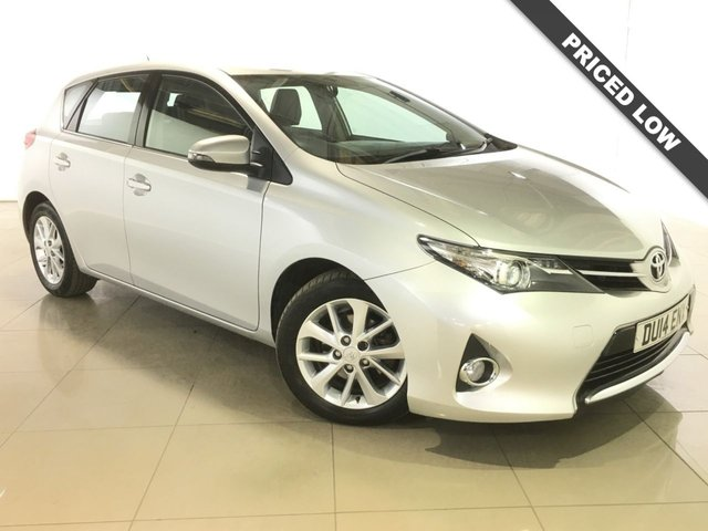 View our 2014 14 TOYOTA AURIS 1.4 ICON D-4D 5d 89 BHP