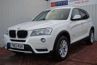 2013 BMW X3 2.0 XDRIVE20D SE 5d AUTO 181 BHP £13995.00