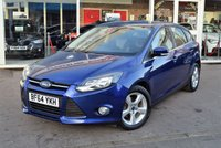 USED 2014 64 FORD FOCUS 1.6 ZETEC NAVIGATOR TDCI 5d 113 BHP FINANCE TODAY WITH NO DEPOSIT