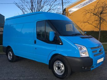2013 FORD TRANSIT 2.2 T330 Mwb Med Roof [ MOBILE WORKSHOP ] Van A/Con Fwd Tdci 125  £8950.00