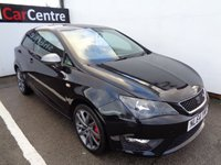 USED 2014 64 SEAT IBIZA 1.4 TSI ACT FR EDITION 3d 140 BHP £176 A MONTH FULL SERVICE HISTORY SATELLITE NAVIGATION CRUISE CONTROL £ 30 ROAD TAX POPULAR SOUGHT AFTER HATCH
