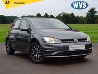 2017 VOLKSWAGEN GOLF 1.0 SE TSI BLUEMOTION TECHNOLOGY 5d 109 BHP £13999.00