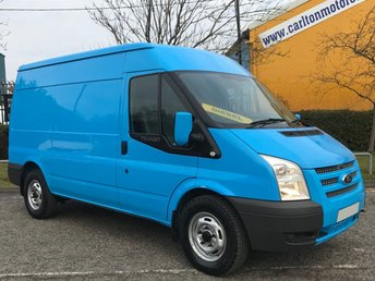 2013 FORD TRANSIT 2.2 330 Mwb Med Roof [ MOBILE WORKSHOP ] Van Fwd A/Con Tdci 125 £8450.00