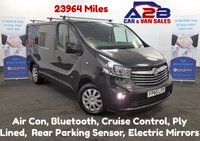 2015 VAUXHALL VIVARO 1.6 CDTI 2700 SPORTIVE 120 BHP with Low Mileage (23964), Air Con, Bluetooth, Cruise Control, DAB Radio, Rear Sensors, Ply Lining £10980.00