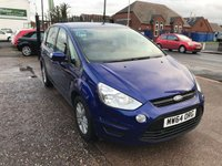 2014 FORD S-MAX 1.6 ZETEC TDCI S/S 5d 115 BHP JUST ARRIVED £9499.00