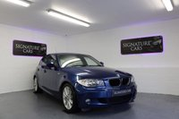 USED 2011 61 BMW 1 SERIES 2.0 118D M SPORT 5d 141 BHP 4 Main dealer stamps - £30 Road tax - 62.8 Average mpg