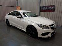 2013 MERCEDES-BENZ E CLASS 3.0 E350 BLUETEC AMG SPORT 2d AUTO 252 BHP £13995.00